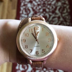 Bronze AE Wrap Around Watch